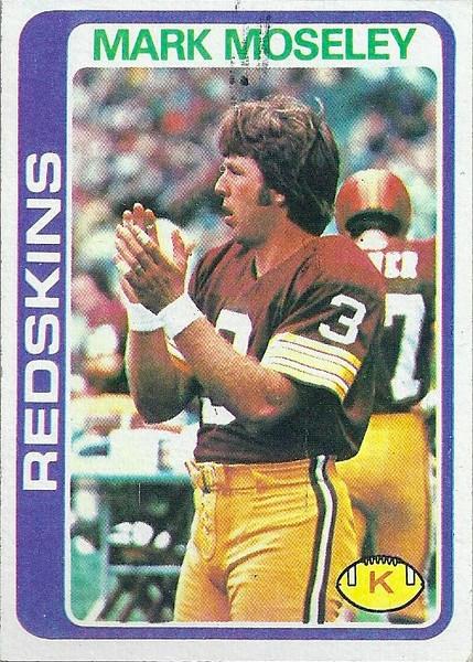Mark Moseley 1978 Topps
