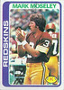 Mark Moseley 1978 Topps
