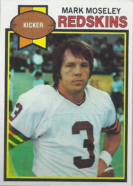 Mark Moseley 1979 Topps