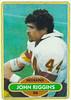 John Riggins 1980 Topps