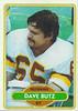 Dave Butz 1980 Topps