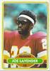 Joe Lavender 1980 Topps