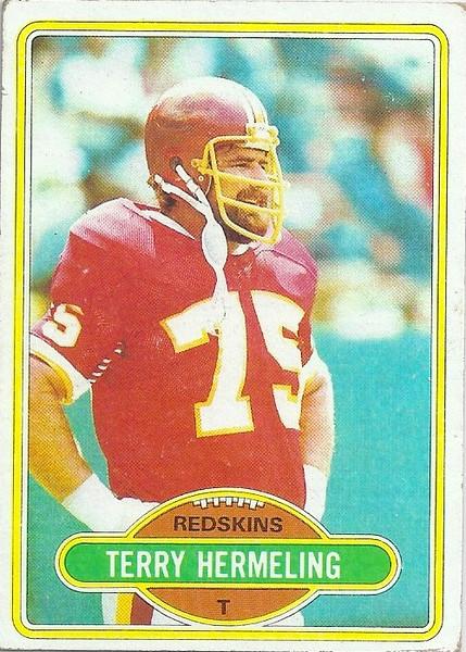 Terry Hermeling 1980 Topps