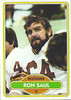 Ron Saul 1980 Topps