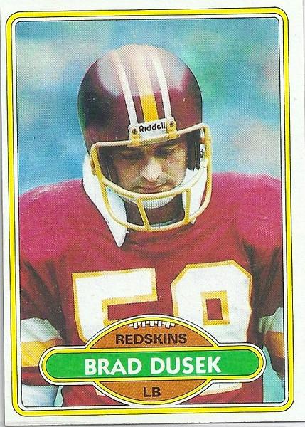 Brad Dusek 1980 Topps