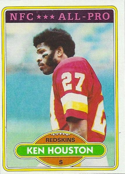 Ken Houston 1980 Topps