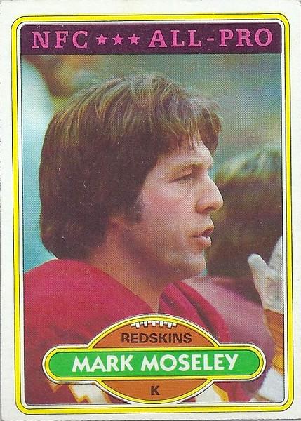 Mark Moseley 1980 Topps