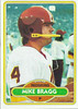 Mike Bragg 1980 Topps