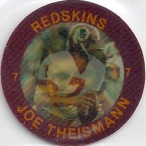 1984 Slurpee Coins Joe Theismann
