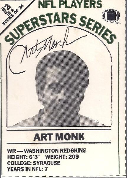1986 Dairy-Pak Black Art Monk