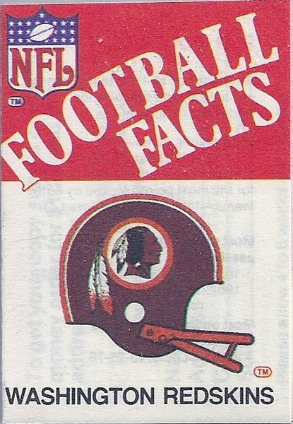 1983 Leaf Football Facts Booklet