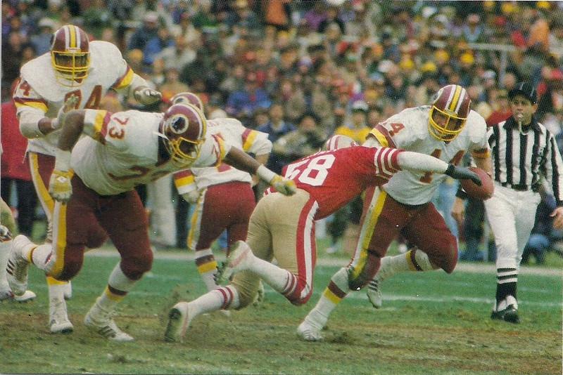 John Riggins 1983 Coral-Lee Postcard