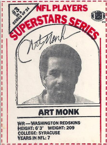 1986 Dairy-Pak Red Art Monk