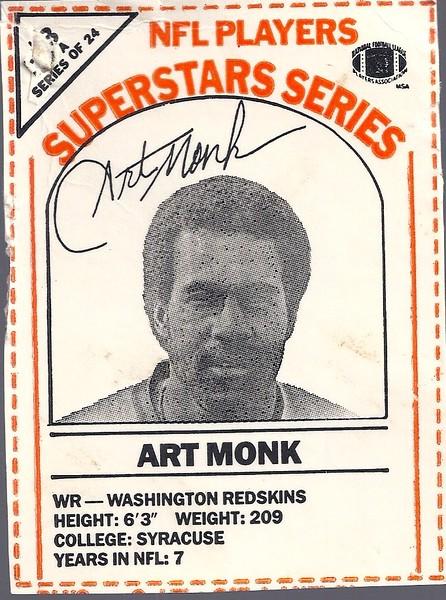 1986 Dairy-Pak Orange Art Monk