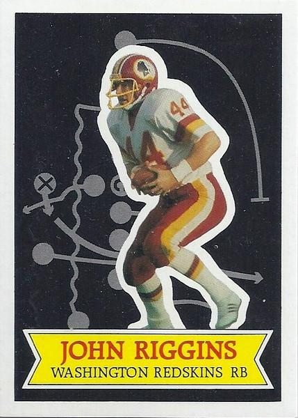 1984 Topps Sendaway John Riggins