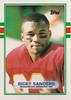 Ricky Sanders 1989 Topps UK