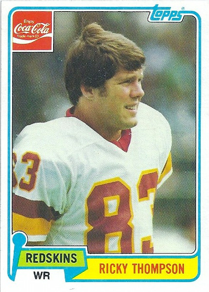 Ricky Thompson 1981 Coke Topps