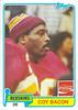 Coy Bacon 1981 Coke Topps