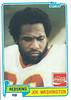 Joe Washington 1981 Coke Topps