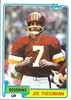 Joe Theismann 1981 Topps