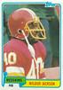 Wilbur Jackson 1981 Topps