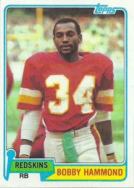 Bobby Hammond 1981 Topps