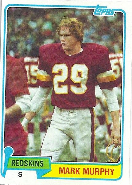 Mark Murphy 1981 Topps
