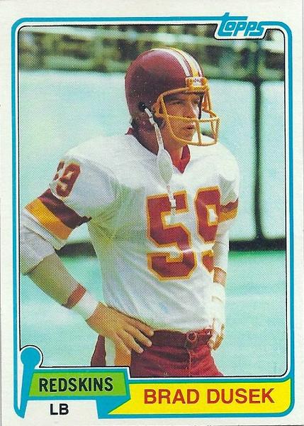 Brad Dusek 1981 Topps