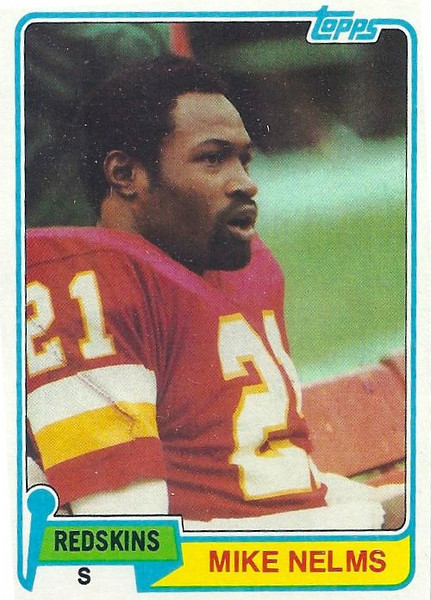 Mike Nelms 1981 Topps