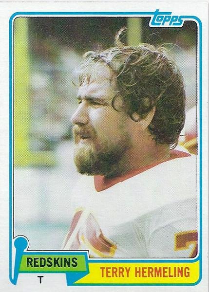 Terry Hermeling 1981 Topps