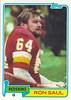 Ron Saul 1981 Topps