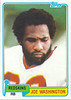 Joe Washington 1981 Topps