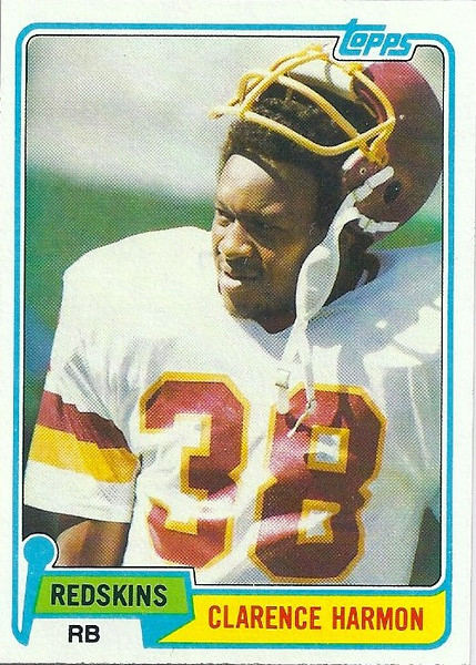 Clarence Harmon 1981 Topps