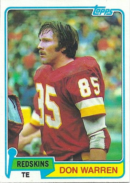 Don Warren 1981 Topps