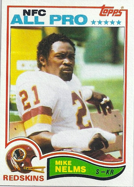 Mike Nelms 1982 Topps
