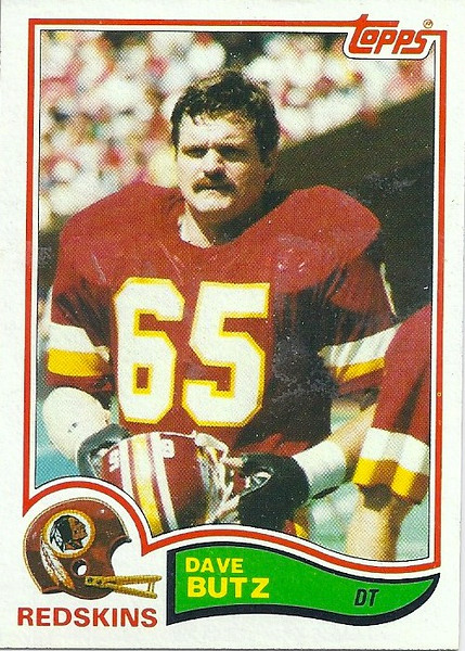 Dave Butz 1982 Topps