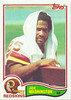 Joe Washington 1982 Topps