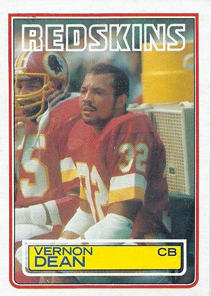 Vernon Dean 1983 Topps