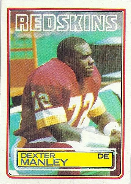 Dexter Manley 1983 Topps