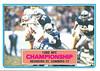 1983 Topps NFC Championship