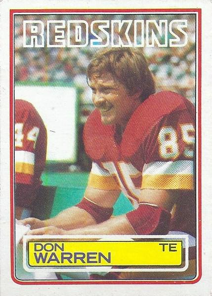 Don Warren 1983 Topps