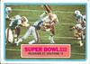 1983 Topps Super Bowl XVII