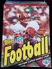 1983 Topps Football Wax Box w/ Joe Theismann
