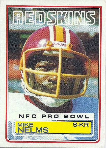 Mike Nelms 1983 Topps