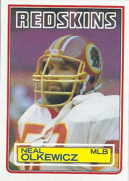 Neal Olkewicz 1983 Topps