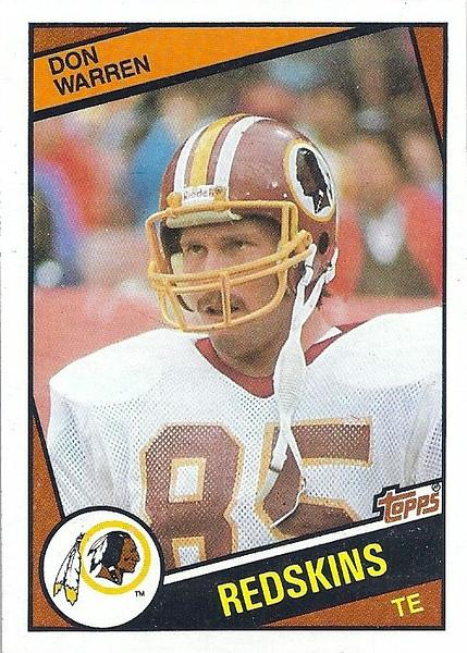 Don Warren 1984 Topps