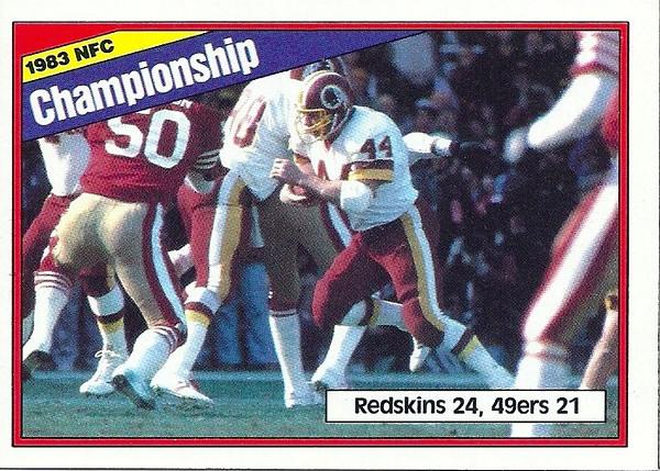 NFC Championship 1984 Topps