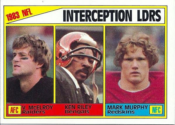 INT Leaders 1984 Topps, Mark Murphy