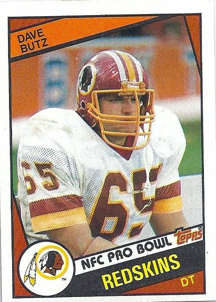 Dave Butz 1984 Topps