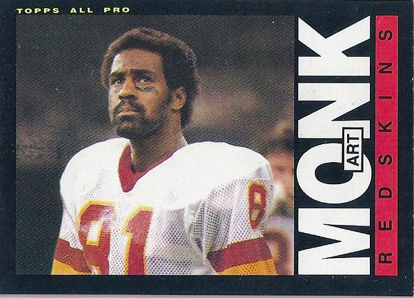 Art Monk 1985 Topps